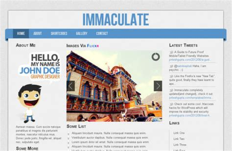 news html5 template a new collection of free html5 and css3 templates