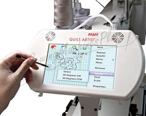 Pfaff Quilt Artist by Pfaff Quilt Artist Computerized Quilting System