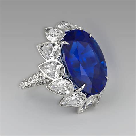 Blue Saphire Ceylon ceylon blue sapphire engagement ring david morris the