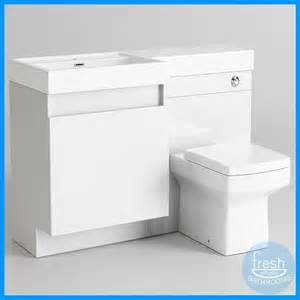 square basin toilet vanity unit combination bathroom