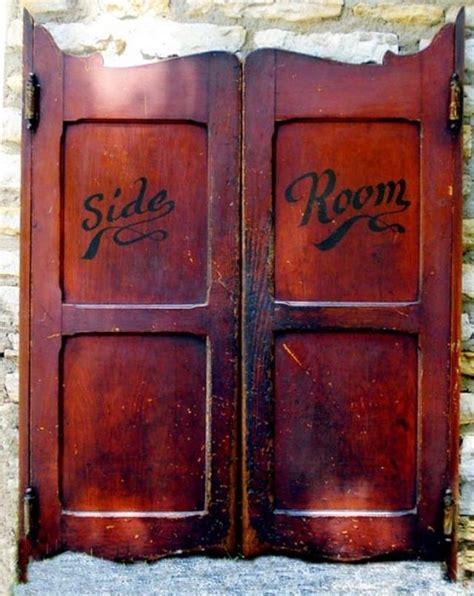 how to make swinging bar doors saloon doors