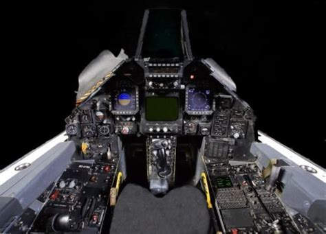 Why Is The 'Retired' F-117 Nighthawk Still Flying ... F 117 Stealth Fighter Cockpit