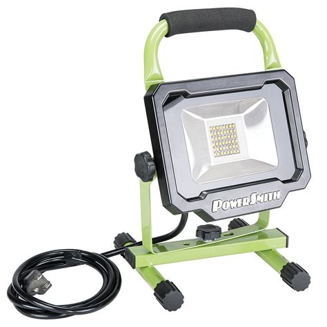 powersmith led work light powersmith 2500 lumen led portable work light pwl1124bs
