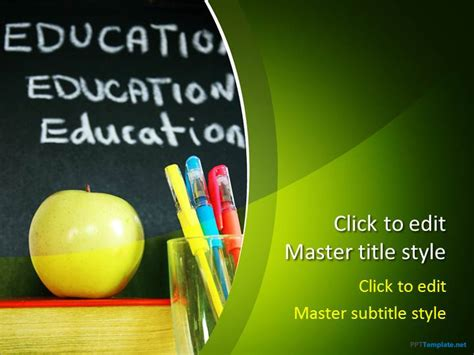 Free School Ppt Template College Presentation Powerpoint Templates