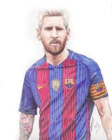 messi art barca drawing instagram