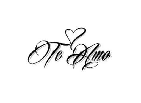 te amo tattoo designs the world s catalog of ideas