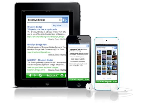 ixquick mobile tools mobile apps