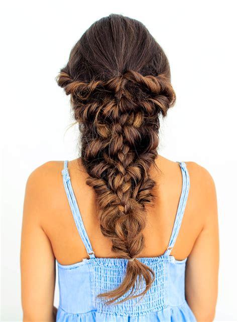 mermaid braid tutorial luxy hair