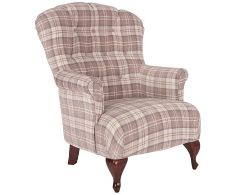 tartan armchairs oban natural tartan fireside armchair just armchairs