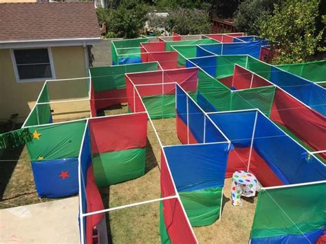 how to make a haunted maze in your backyard fun outdoor fundraising ideas pay4schoolstuff blog