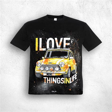 Mini Cooper Tshirt painted creations painted mini cooper t shirt