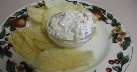 Life Less Hurried Living In The Slow Lane Green Onion Cottage Cheese Chip Dip