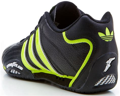 adidas goodyear trainers c adidas originals goodyear adi racer trainers black green