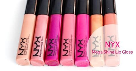 Nyx Mega Shine Lip Gloss No122 makeupmarlin nyx mega shine lip gloss