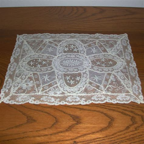 Lace Dresser Scarves by Normandy Lace Dresser Scarf Doily From Lllemon On