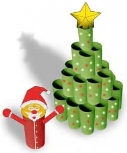 191 c 243 mo hacer un 225 rbol de navidad usando tubos de papel