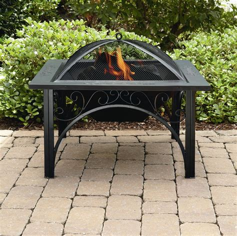 square outdoor pit sense 30 quot urn pit outdoor living outdoor