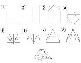 simple paper plane template how to make paper airplanes for easily at home