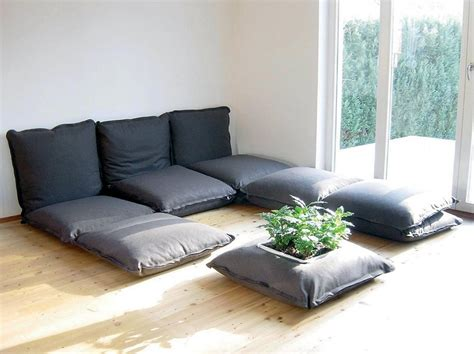 Comfortable Floor Couch For Sweet Home Floor Pillow Sofa