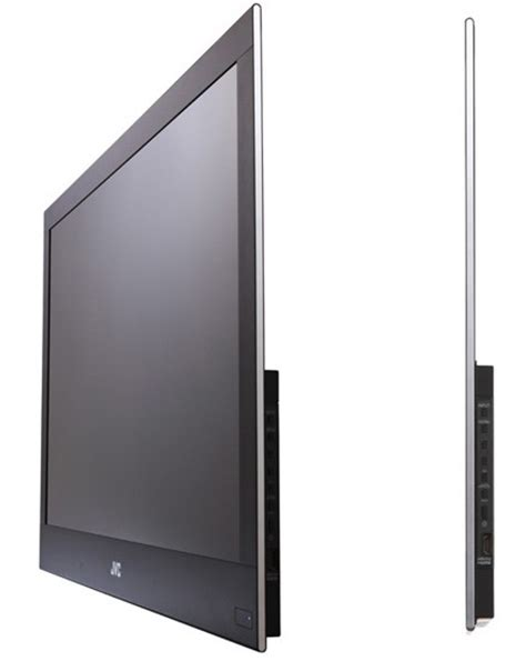 Tv Niko Lcd Ultra Slim jvc s 32 inch gd 32x1 lcd is 6 4 mm thin nearly makes oleds jealous