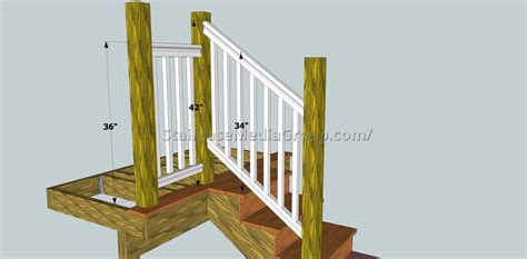 Banister Railing Height by Staircase Railing Height Code Best Staircase Ideas