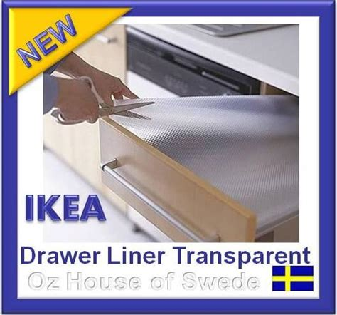 Kitchen Cabinet Liners Ikea Ikea Non Slip Mat Drawer Liner Kitchen Bedroom Draw Cupboard Shelf Protect Clear Ebay