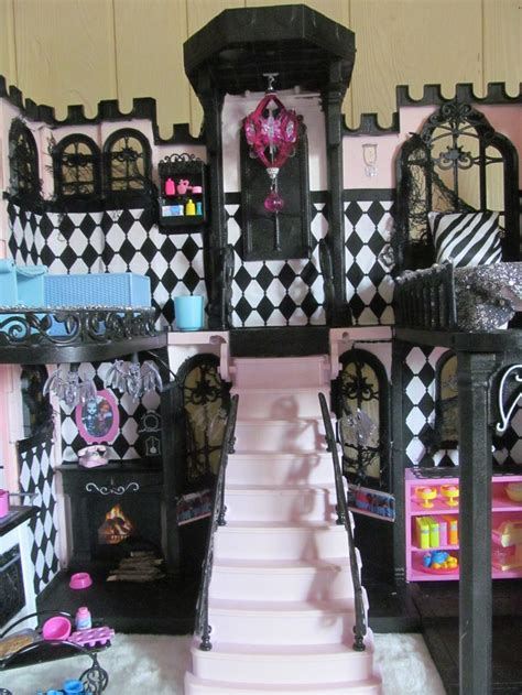 Monster High Classy Castle One Of A Kind Custom Doll House By Bargainfancy For Sale