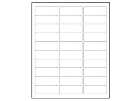 avery label template 5195 return address labels 1 75 x 0 666 60 labels per sheet