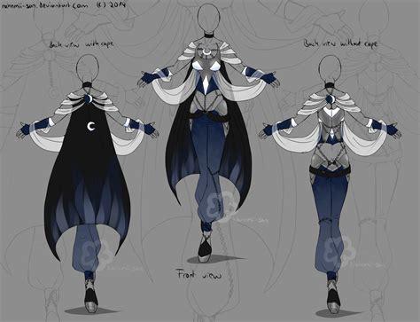 themes for clothing design blue fantasy design by nahemii san on deviantart