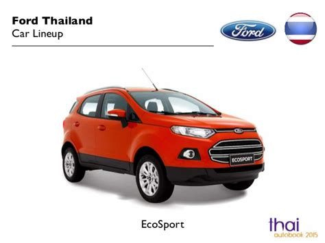 2015 Ford Lineup by Ford Thailand Car Lineup 2015