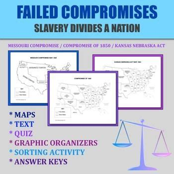 missouri compromise map activity answers 17 best ideas about missouri compromise on