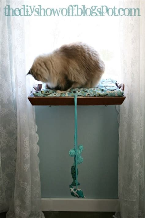 diy how to make a cat window perch - How To Make A Cat Window Seat