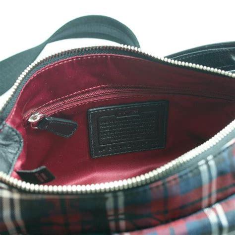 groovy swing coach poppy tartan groovy swing bag crossbody bag