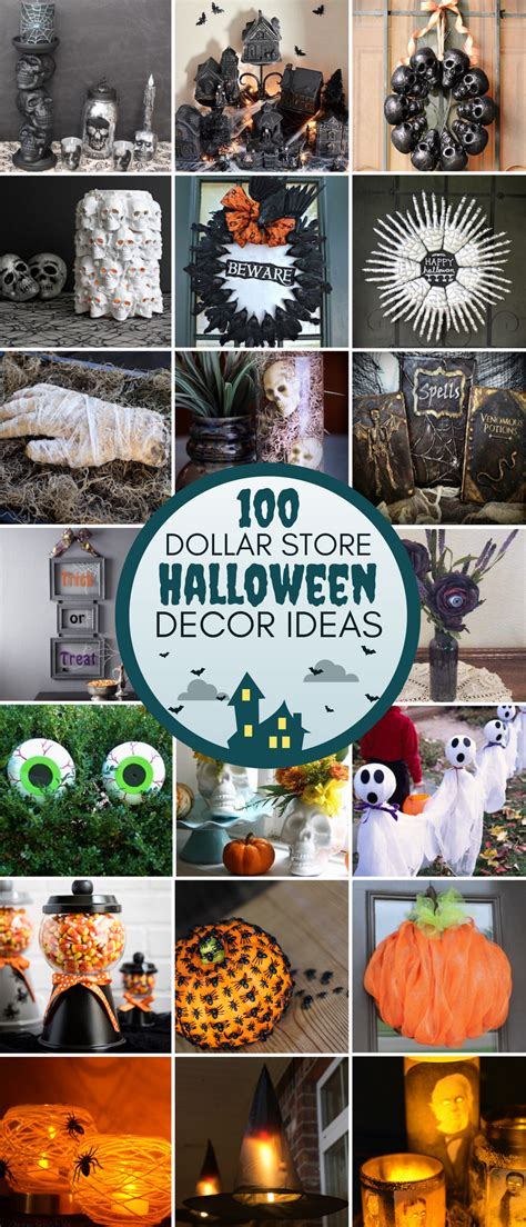 Cheap Diy Home Decor 100 Dollar Store Halloween Decor Diy Ideas Prudent Penny