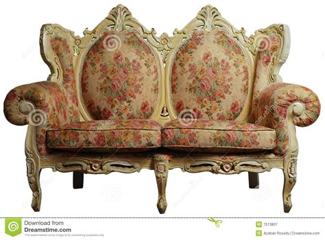sofa dream meaning classical sofa chair w clipping path stock image image