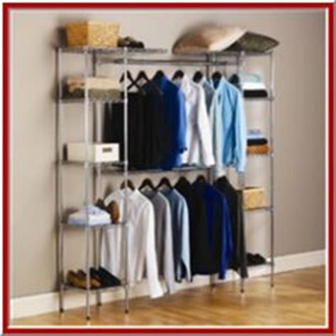 Clothes Closets Free Standing by Free Standing Closet Rack On Standing Closet