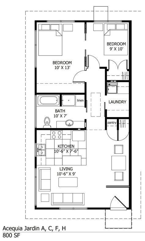 floor plan for 1 bedroom house single story small house plans two bedroom floor plans one