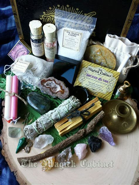 complete altar kit witches altar kit gift