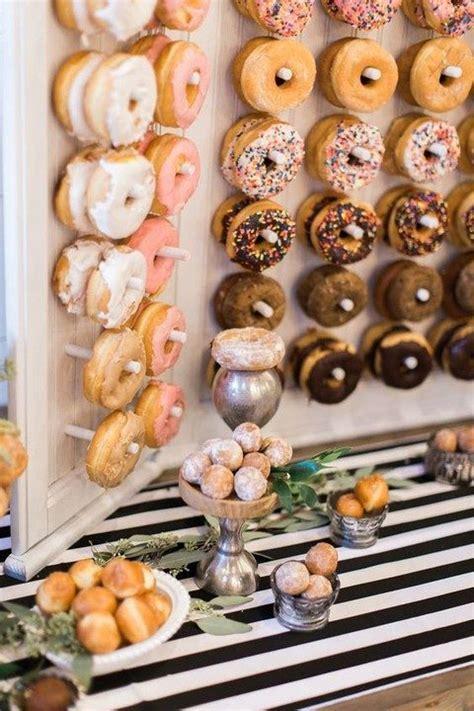 Wedding Catering Trend: 34 Donut Walls   HappyWedd.com