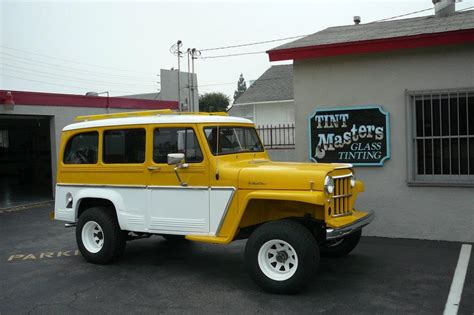 jeep station wagon 2016 classic willys jeep station wagon tint masters