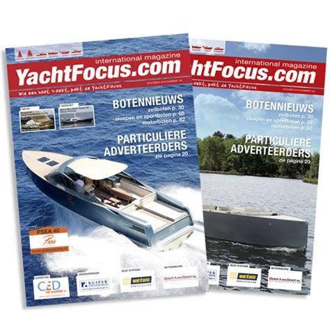 boten te koop yachtfocus het blad yachtfocus magazine yachtfocus