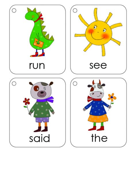 printable first words flashcards for toddlers first 100 words flashcards 3 kidspressmagazine com