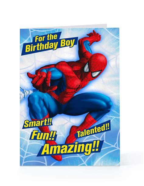 printable birthday card spiderman spider man happy birthday quotes quotesgram