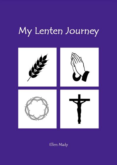 printable lent journal my stations of the cross activity book and devotional for