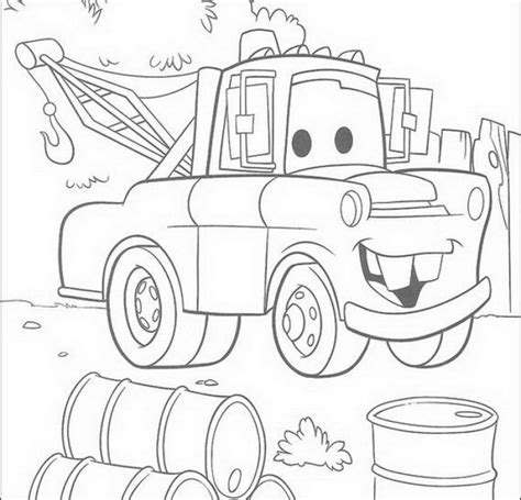 coloring pages mater cars mater coloring page az coloring pages