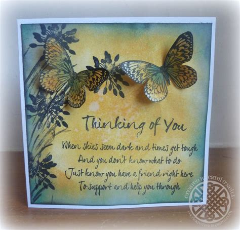 Thinking Of You Gift Card - thinking of you verses for handmade cards 28 images sale handmade bible verse by