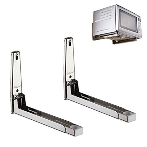 ams made in usa wall mounting brackets mylifeunit 304 stainless steel microwave oven wall mount