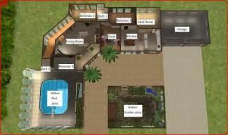 Sims 2 House Floor Plans by Sims 4 Houses Floor Plans Modern House