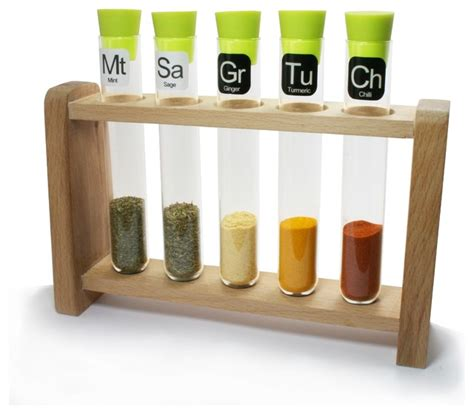 Test Spice Rack test spice rack contemporary spice jars and spice racks by science museum shop