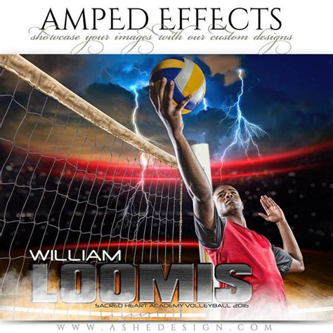 volleyball templates for photoshop ashe design amped effects photoshop templates sports